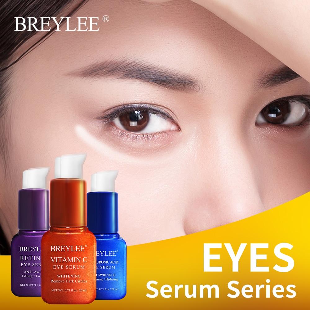 BREYLEE Vitamina C Eye Cream Eye Care Retinol Eye Serum Hyaluronic Acid Skin Care Eye Bag Moisturizing Dark Circles Firming 20ml