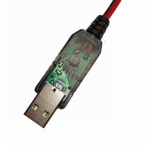Image 3 - Понижающий фильтр для батарей AA/AAA, USB 5 В до 1,5 В/3 в, понижающий зажим для кабеля, регулируемая линия преобразователя Напряжения для часов и пультов дистанционного управления