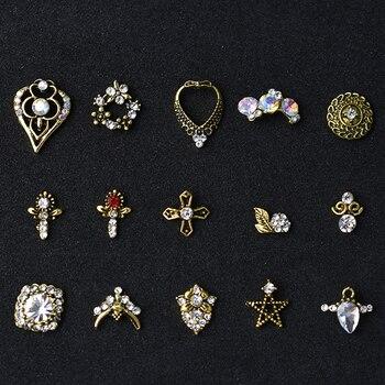 10Pcs 3D Nail Jewelry Charm Red Diamond Rhinestone Charms Rhinestones For Nail Glitter DIY Nail Art Decorations 2019 10pcs 3d nail rhinestones glitter diamond crystal for nails metal jewelry nail art decorations diy charms wholesale 2019