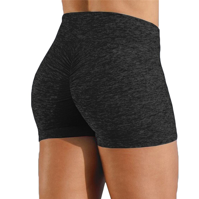 High Quality Breathable Women's High Waist Sports Short Workout Running Fitness Leggings Female Shorts Gym Leggings 4