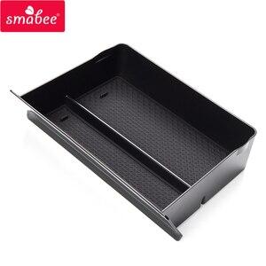 Image 2 - Smabee Zentrale Console Storage Box für Tesla Modell X Modell S Auto Innen Zubehör Container Shop Inhalt Schublade Box