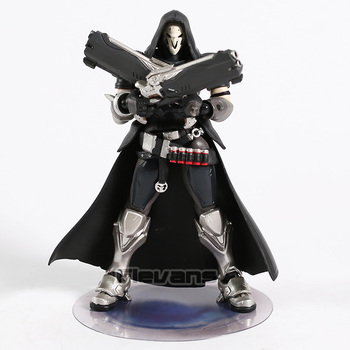 Hot Game OW Reaper Figma 393 PVC Action Figure Collectible Model Toy 5