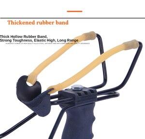 Image 4 - Proca profesjonalna z gumką i podpórka pod nadgarstek 2 kolory proca do polowania uchwyt ABS zewnętrzna strzelanka