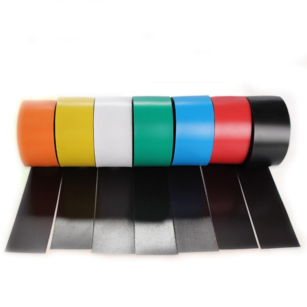 1 метр Гибкая магнитная лента 25x1 мм Цветные этикетки для творчества местоположение маркеры мягкая магнитная лента магниты на холодильник
