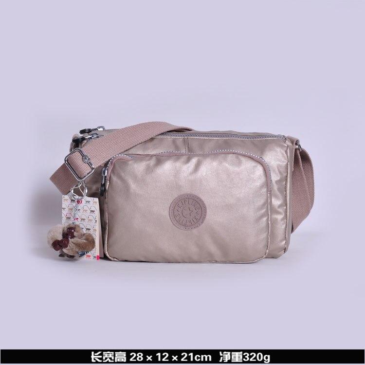 100% de lujo kiple para mujer, Bolsa Original, bolso de mano con llavero, 2020