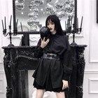 2019 Black  Up Skirt...