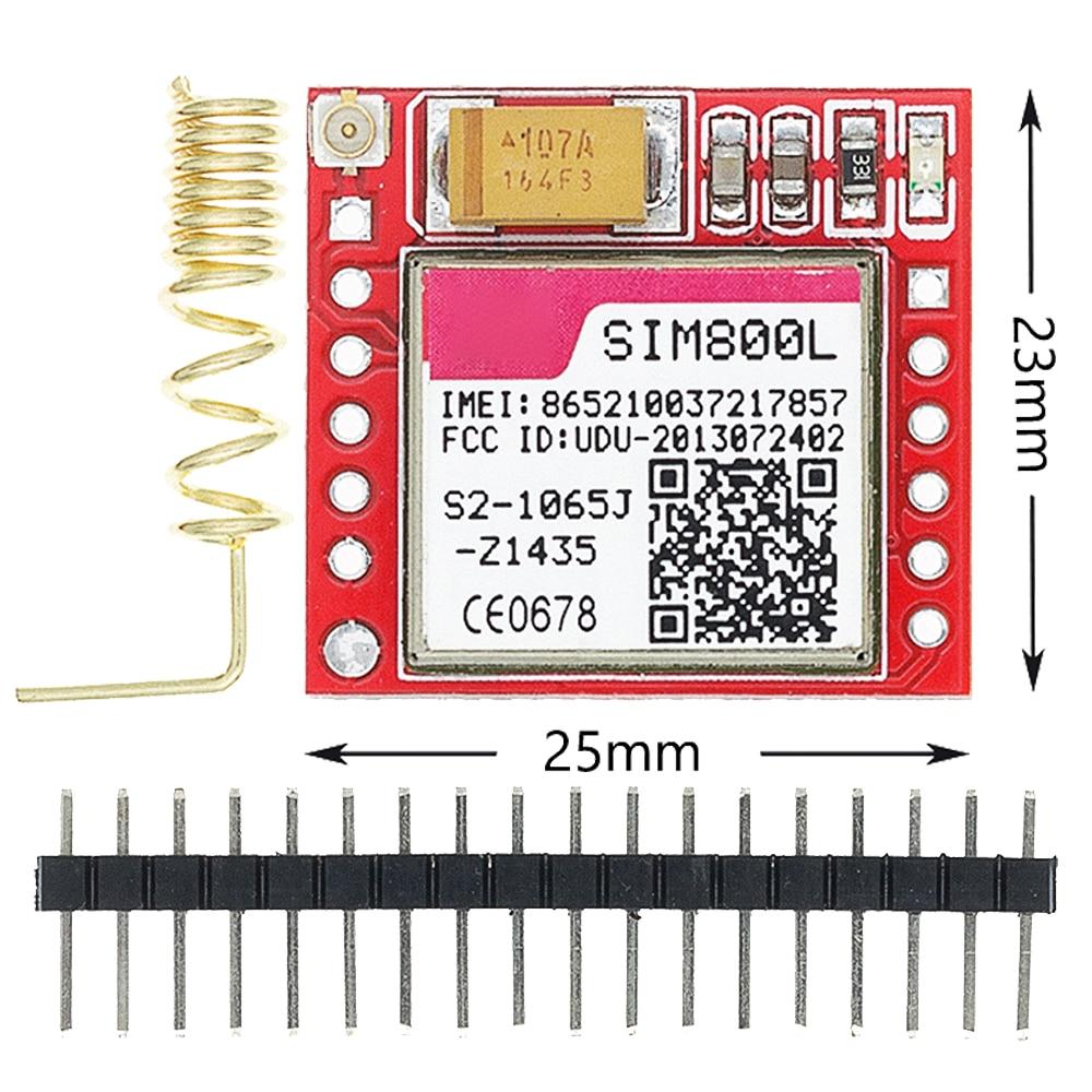 Leyal 5pcs//lot SIM800 GSM GPRS Module STM32 SIM900A Upgrade Board GPS Module