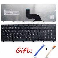 Russische Laptop Tastatur für Acer Aspire 90.4HV07.S0R V104730DS3 9Z. n1H82. c0R PK130C92A04 AEZR7700010 NSK ALC0R KB. i170A. 164 RU-in Ersatz-Tastaturen aus Computer und Büro bei