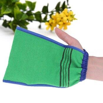 1 PCS Bath towel artifact Shower Spa Two-sided Bath Glove Body Cleaning Scrub Mitt Rub Dead Skin Removal