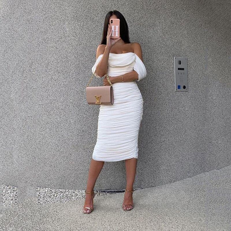 Off épaule Dress
