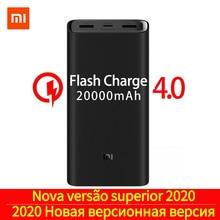 2019 NEW Xiaomi mi Power Bank 20000mAh 3 USB-C 45W Three Por