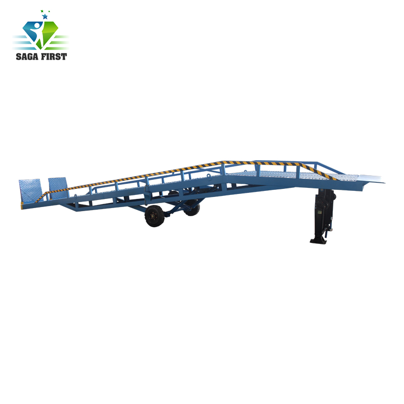 Sinofirst 6T Container Loading Ramps Dock Leveler For Trailers