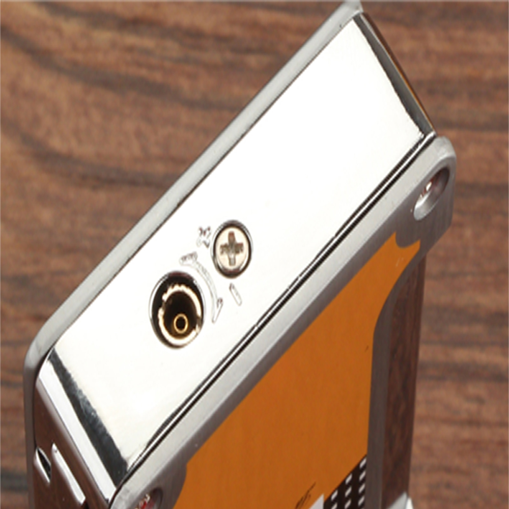 COHIBA Cigar Lighter Cigarette Lighters Accessories Pocket with Cigars Cutter Punch Gift Box in Cigar Accessories from Home Garden