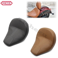 Motorcycle Parts Balck/Brown Leather Passenger Pillion Seat for Indian Scout 2015 2018 Scout Sixty