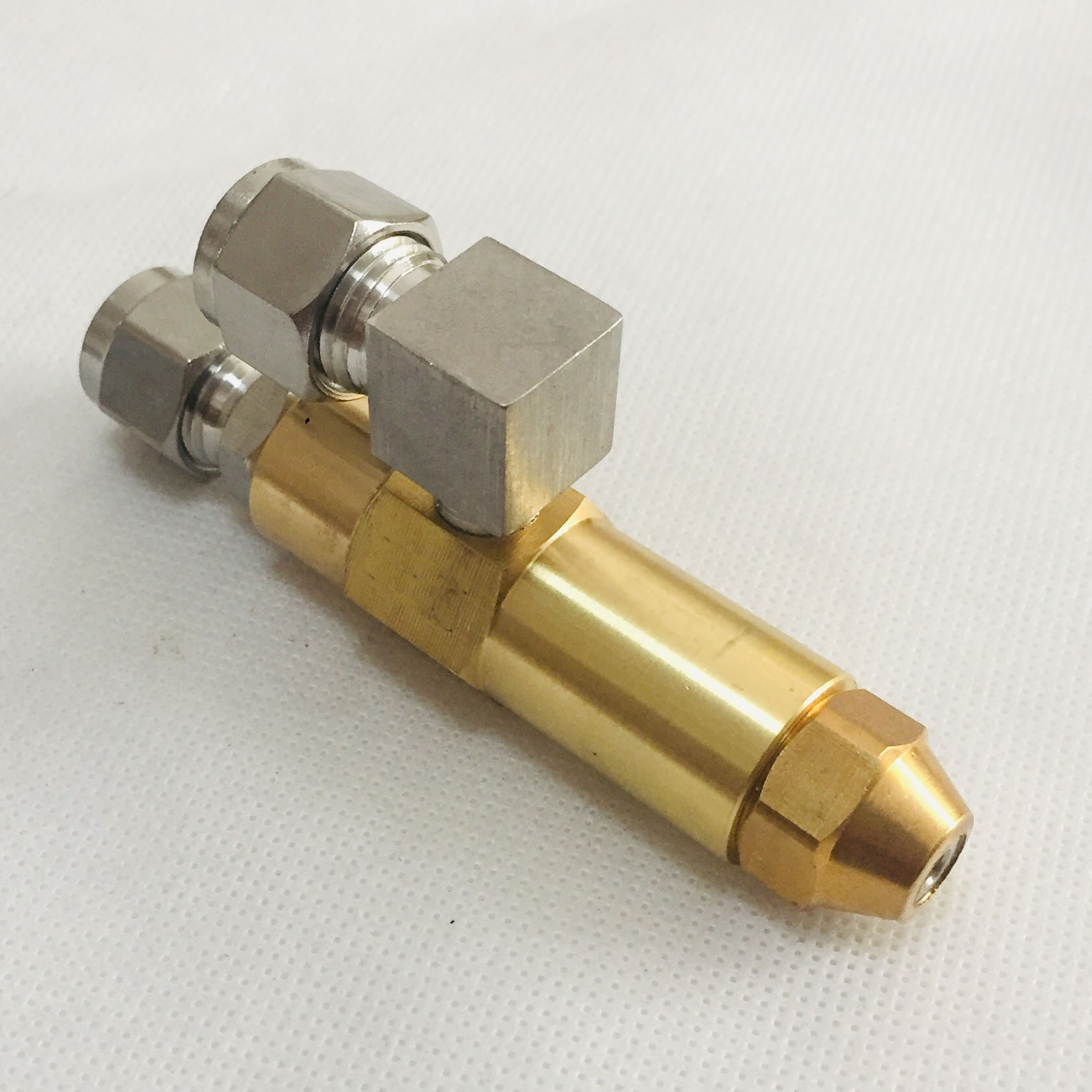 68mm 0.5/0.8/1.0/1.2/1.5/2.0/2.5/3.0mm Waste Oil Burner Nozzle,air Atomizing Nozzle,fuel Oil Nozzle,full Cone Oil Spray Nozzle
