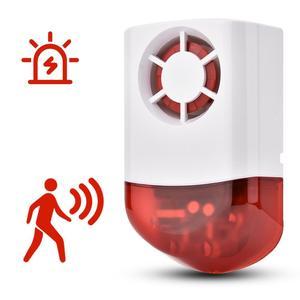 Image 4 - Smart Wireless Siren Weatherproof External Flash LED Strobe Outdoor Siren for Home G2B O2B GSM Alarm System hot