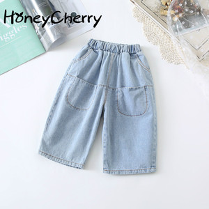 Image 1 - Girls Pants 2020 New Spring Baby Versatile Pants Baby Girl Clothes Baby Girl Bottoms