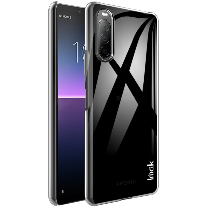 <font><b>Case</b></font> for <font><b>Sony</b></font> <font><b>Xperia</b></font> <font><b>10</b></font> II IMAK Crystal Transparent PC Back <font><b>Cover</b></font> <font><b>Case</b></font> for <font><b>Sony</b></font> <font><b>Xperia</b></font> <font><b>10</b></font> II image