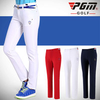 PGM Women Golf Pants Trousers Sportwear Female Slim Quick Dry Elastic Summer Thin Leisure Outdoor Sports Clothing Wear Pants
