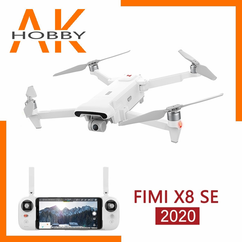 FIMI X8SE 2020 version Camera Drone RC Helicopter 8KM FPV 3-axis Gimbal 4K Camera GPS 35mins Flight Time RC Drone Quadcopter RTF
