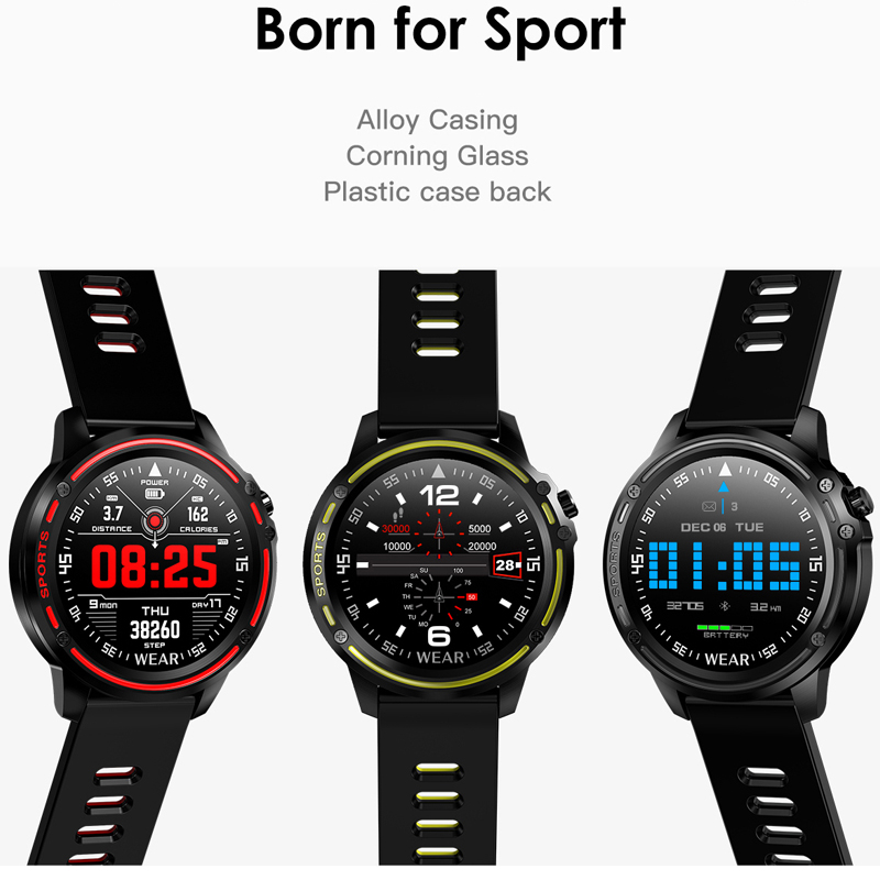 Image 4 - L8 Smart Watch Men IP68 Waterproof Reloj Hombre Mode SmartWatch  with Blood Pressure Watches Sports Fitness Heart Rate Watch ManSmart  Watches