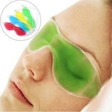 Sleep Masks Summer Cool Ice Goggles Eye Mask Sleep Headache Relief Eye Fatigue Dark Circles Remove Gel Ice Pack Ice Goggles
