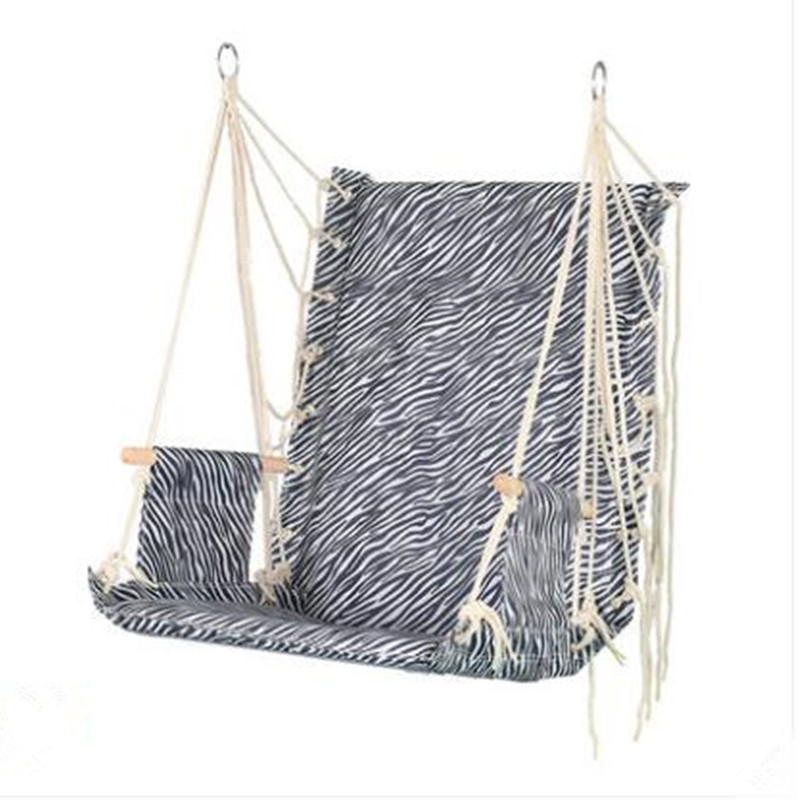 2021 New Free Installation Dormitory Hanging Chair Bedroom College Students Thickened Hammock Loading 150 kg Cradle Swing