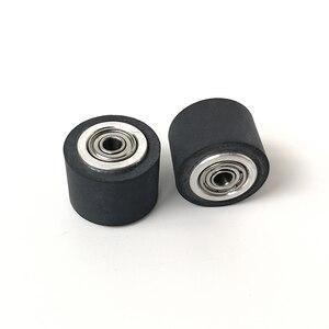 Image 5 - 10pcs Pinch Roller Roland Mimaki GCC Liyu Graphtec Inkjet Printer Vinyl Cutter Cutting Plotter Roll 5x11x16mm Rubber Copper Core