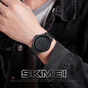Image 3 - أزياء الرجال ساعة كوارتز 30M للماء ساعة اليد ساعات رجالية الأعلى العلامة التجارية ساعة سكيمي أزياء رجالي سوار ساعة Relogio