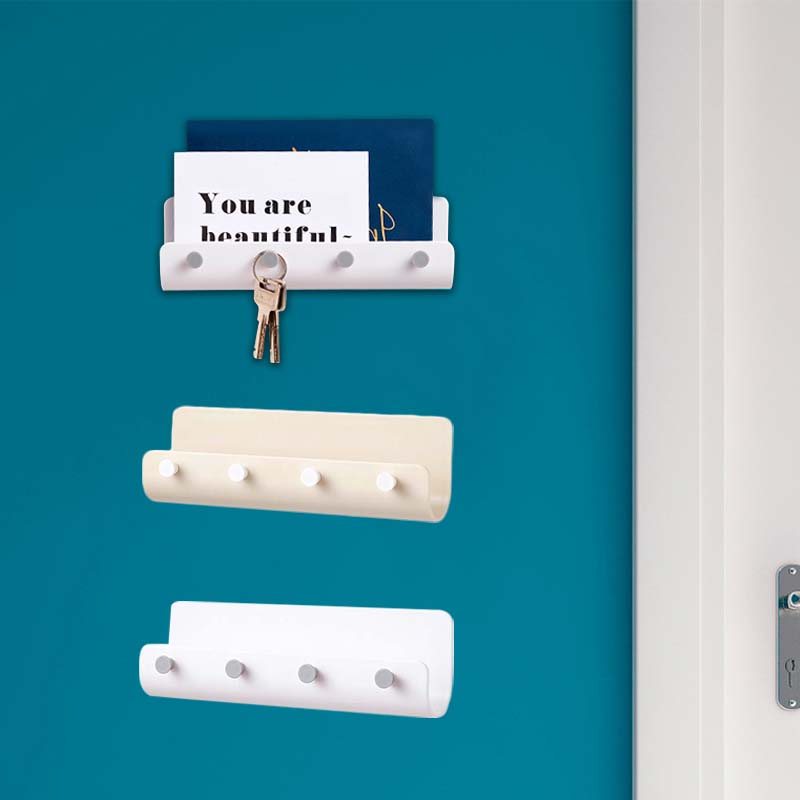 Home Kitchen High Quality Powerful Door Hanger Wall Mount Hooks Key Holder Rack Post Organizer Letter Box Mail Cook Accesspries