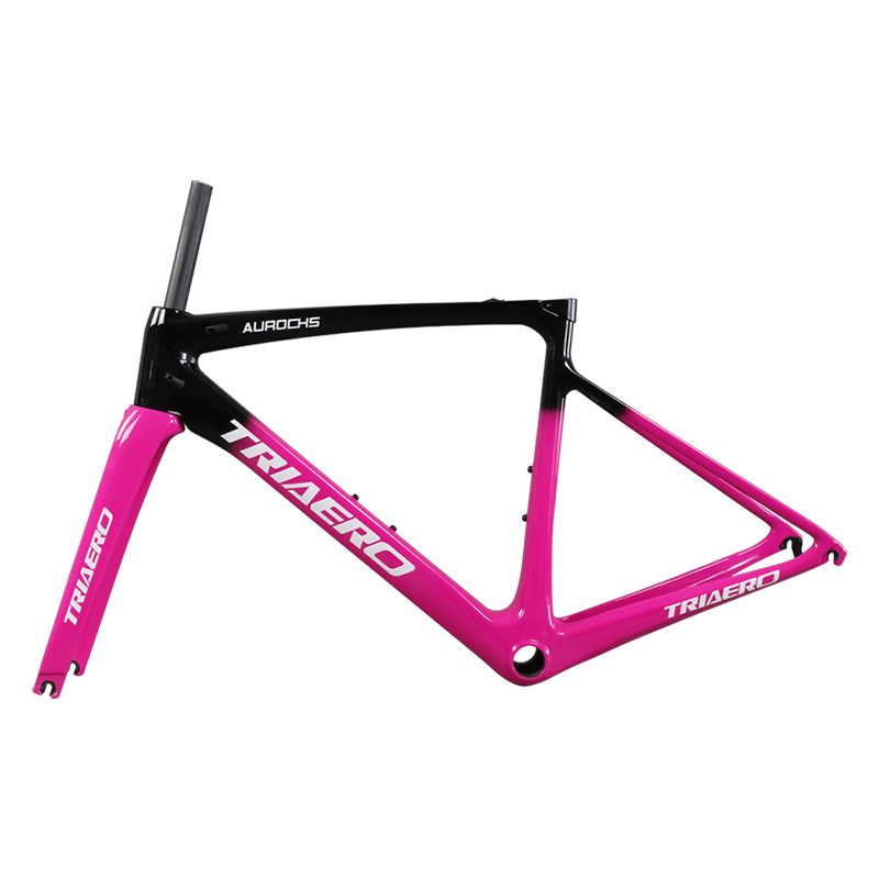 Super Light Racing Bicycle Frame AERO A8 With 700C*25mm Max Tire