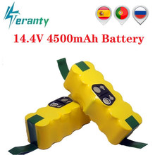 14.4V 4500mAh akumulator Ni-MH do iRobot Roomba 500 510 530 532 534 535 540 550 560 562 570 580 600 610 700 760 770 780 800 980 R3
