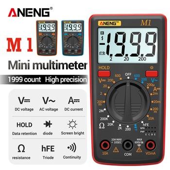 ANENG-multímetro Digital M1, medidor de esrmetro, multímetro Digital de valores eficaces verdaderos,...