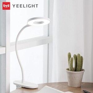 Image 4 - Yeelightโคมไฟตั้งโต๊ะLED Clip On Night Light USBชาร์จไฟ 5W 360 องศาปรับDimmingอ่านโคมไฟสำหรับห้องนอน