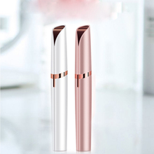 Hair Removal Eyebrow Trimmer Electric Lipstick Lip Chin Cheeks Nose Eyebrow Trimmer Shaving Hair Removal Pen Mini Electric Razor facial hair removal for women face hair remover for upper lip cheeks chin painless electric lady face razor as seen on tv