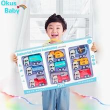 Супер подарок, детская игрушка Автомобиль инерционный Taxiway инженерный автомобиль Детский экскаватор пожарная машина миксер набор