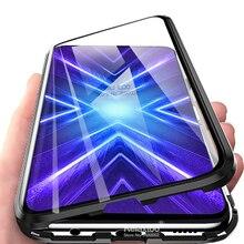 Honor 9X funda magnética para Huawei Honor 9X Premium, carcasa de cristal templado de doble cara, 9 X STK LX1
