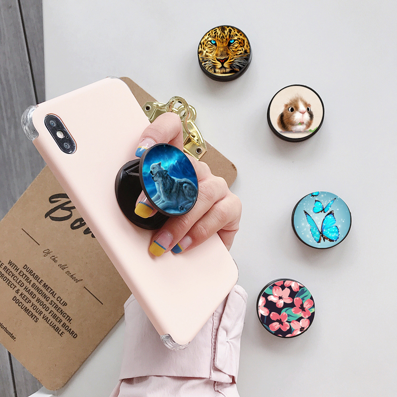 Cellphone Finger Ring Holder Customized Logo Phone Mount Phone Holder Stand For IPhone Samsung Huawei Xiaomi Phone Holder