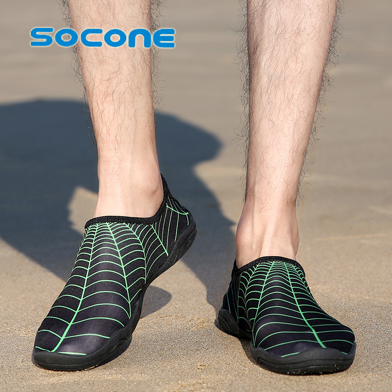 2021 hot sale large size water sports shoes men's beach volleyball shoes swimming shoes wading surfing diving shoes