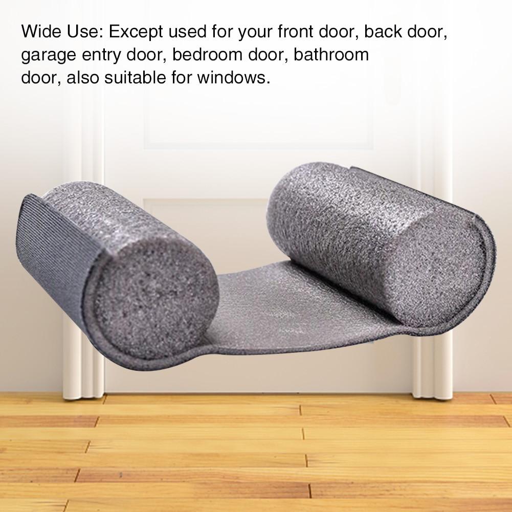 Soundproof Anti-Dust Bottom Sealing Strip Windproof Noise Reduction Door Draft Stopper Insulator Tight Blocker Closing Plug