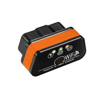 Super Mini KW901 WIFI ELM327 V1.5 ODB2 OBDII Car Diagnostic Scanner Tool ELM 327 Code Reader Works On IOS Android Phone