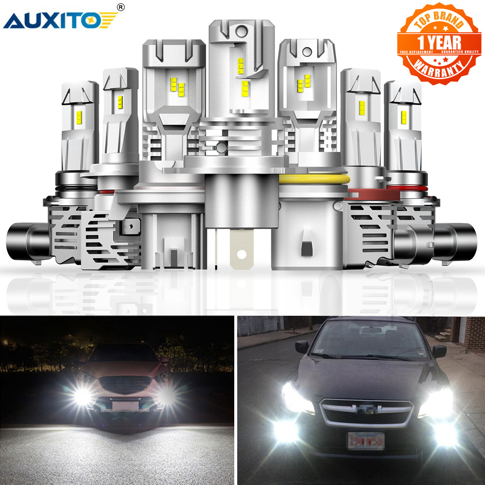2 шт., Автомобильные светодиодные лампы H4 H7 Canbus HB3 9005 HB4 9006 H8 H11 H13 12000 лм