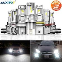 AUXITO 2 stücke H4 H7 Led Canbus HB3 9005 HB4 9006 Led H8 H11 H13 Led Scheinwerfer Mini 12000LM Auto lichter Lampen Fehler Frei Auto Lampe
