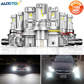 AUXITO 2pcs H4 H7 Led Canbus HB3 9005 HB4 9006 Led H8 H11 H13 Led Headlights Mini 12000LM Car Lights Bulbs Error Free Auto Lamp new generation all in one high beam error free 9005 hid lights for madza 3
