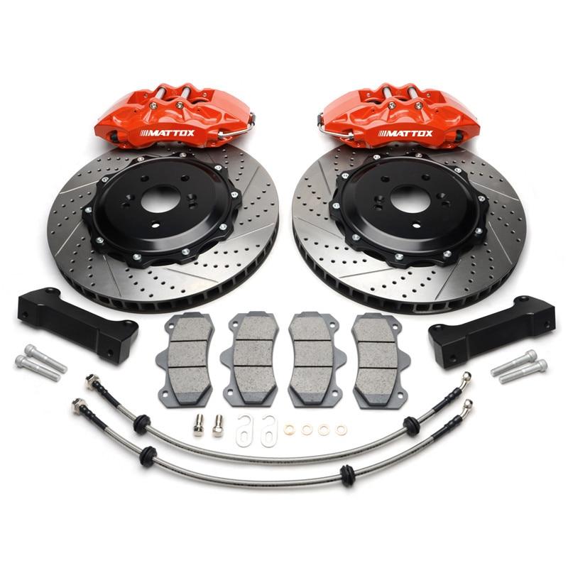 Mattox Racing Car Parts Big Brake Kits 6POT Caliper 355x32mm Front Brake System ForToyota Celica 2005
