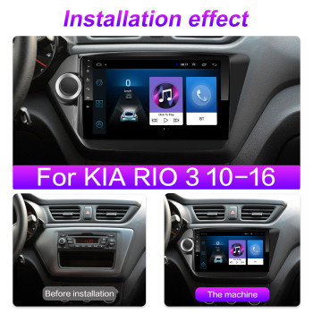 4G 8 Cores Android 10 2din Car Radio Multimedia Video Player Navigation GPS For Kia Rio 3 4 2011 2012 2013 2014 2015 2016-2020