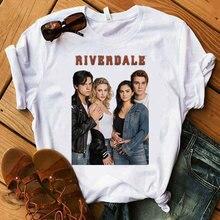 Women T-Shirt Riverdale Hit Printed American Valley Tv-Series Town Lady