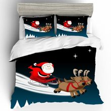 Home Textiles Bed Linen Set Christmas Kid Qualified Luxury Couple King Size Bedding Duvets And Sets Cotton