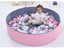 120cm*30cm Baby Fence Ocean Ball Folding Ball Pool Baby Dry Ball Pool Round Ball Pool Pits Toys for Children Birthday Gift(China)