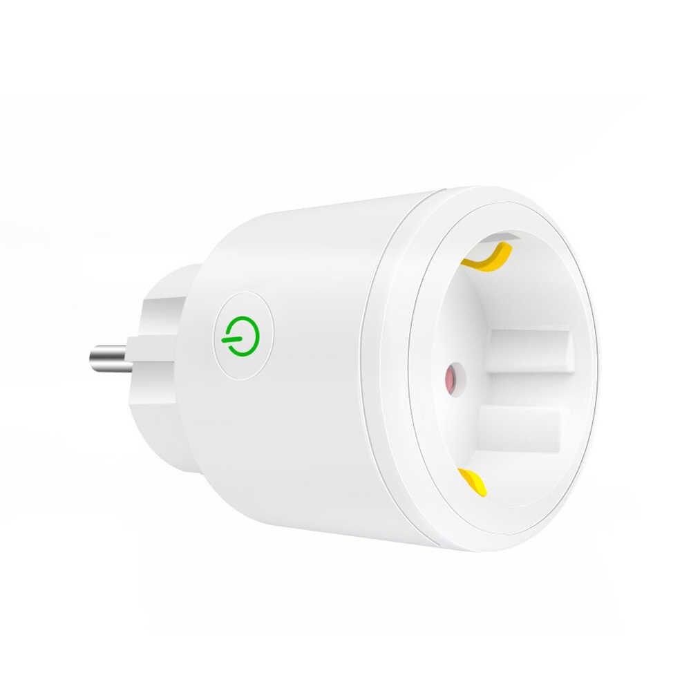 Smart Plug EU WiFi Socket 10A/16A Timing APP Control Via iOS Android Phone Works With Alexa Google Home Mini Voice Control